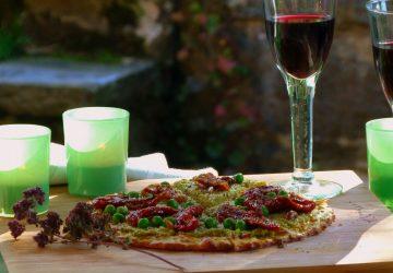 Pizza saine et savoureuse, avec ou sans gluten!