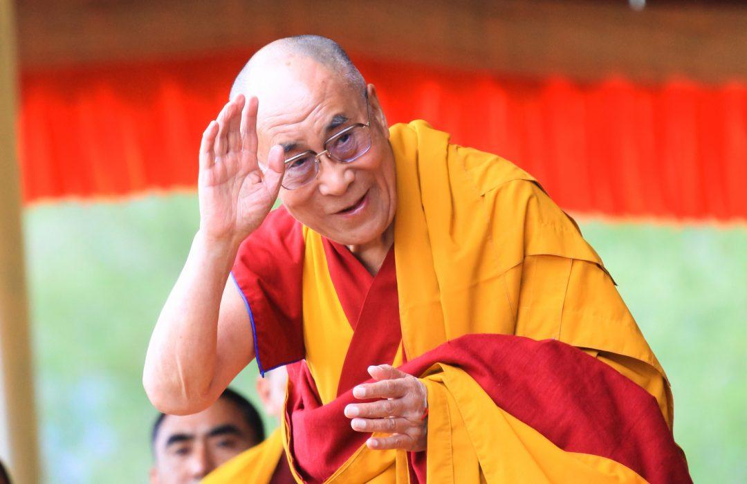 Le Dalaï lama s'exprime à Bruxelles